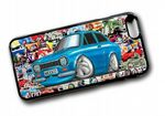 Koolart STICKERBOMB STYLE Design For Retro Mk1 Ford Escort Mexico Hard Case Cover Fits Apple iPhone 6 & 6s